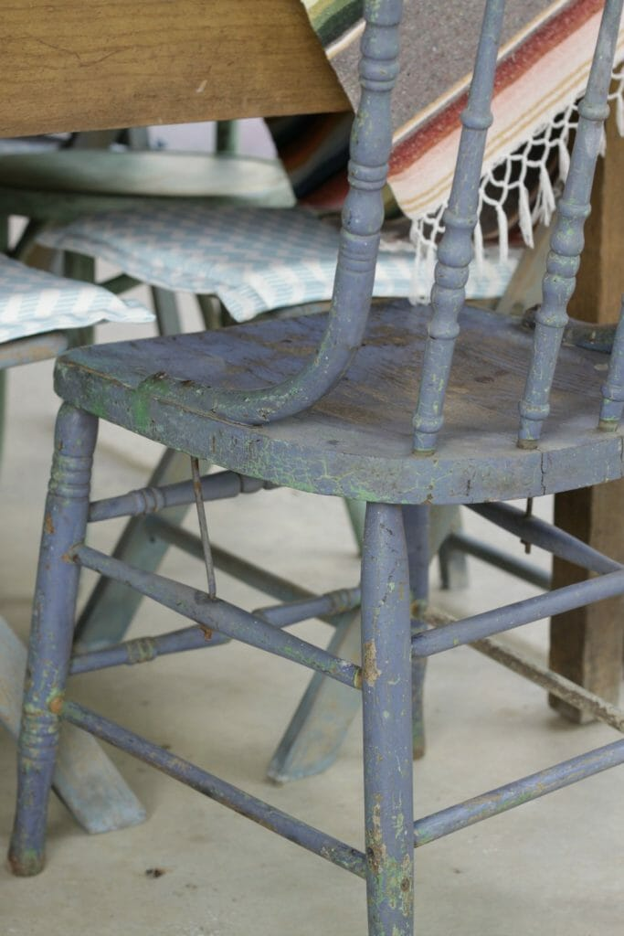 Original Paint on Chair
