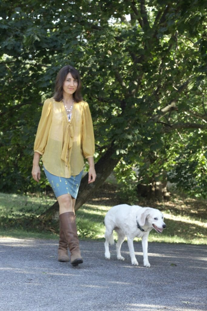 lularoe-xs-cassie-skirt-fall-outfit