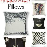 Affordable Seasonal & Halloween Pillows