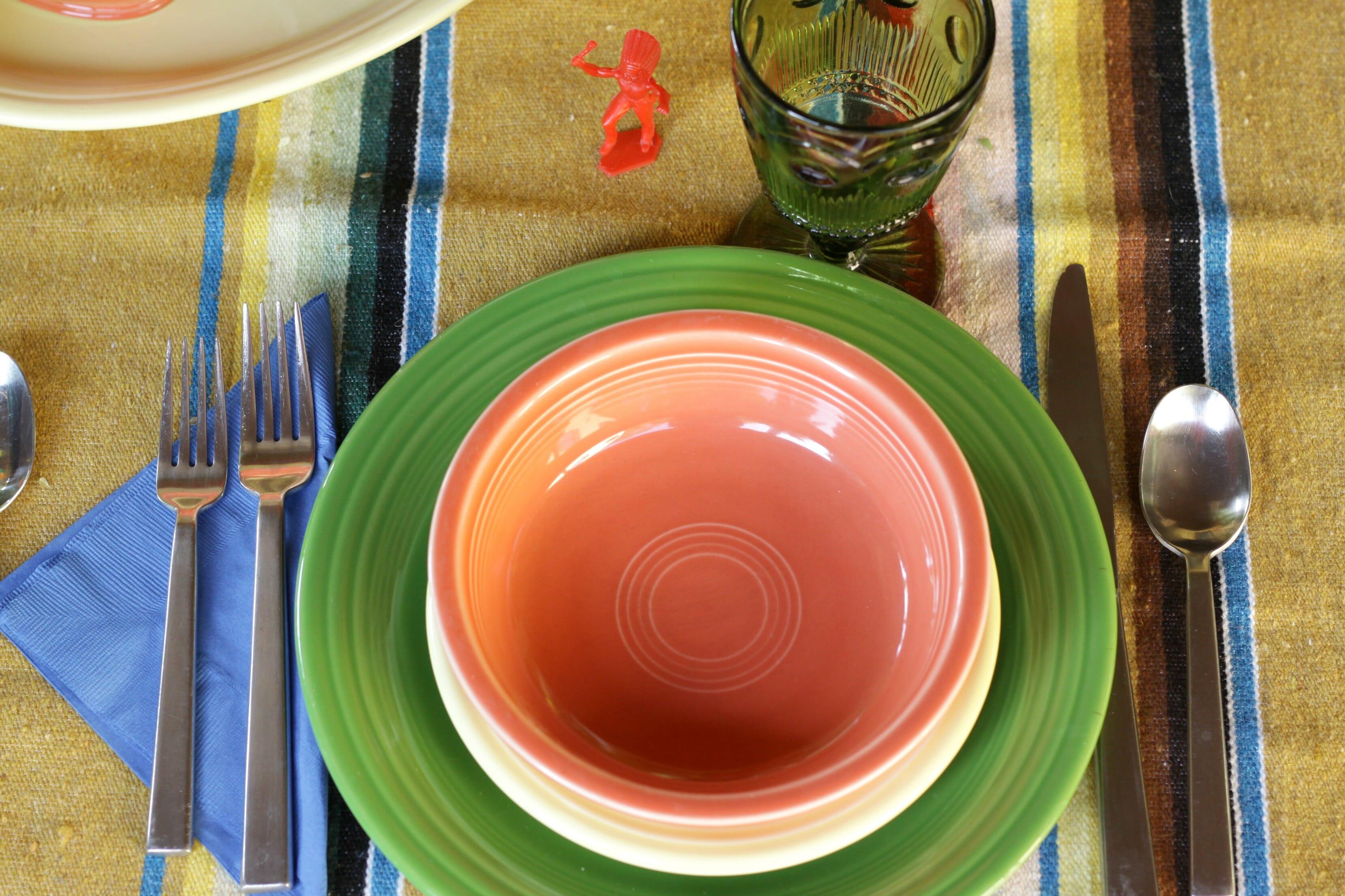 Fiestaware Table Settings. Fiestaware. Beautiful Lovely Fall Fiesta ...