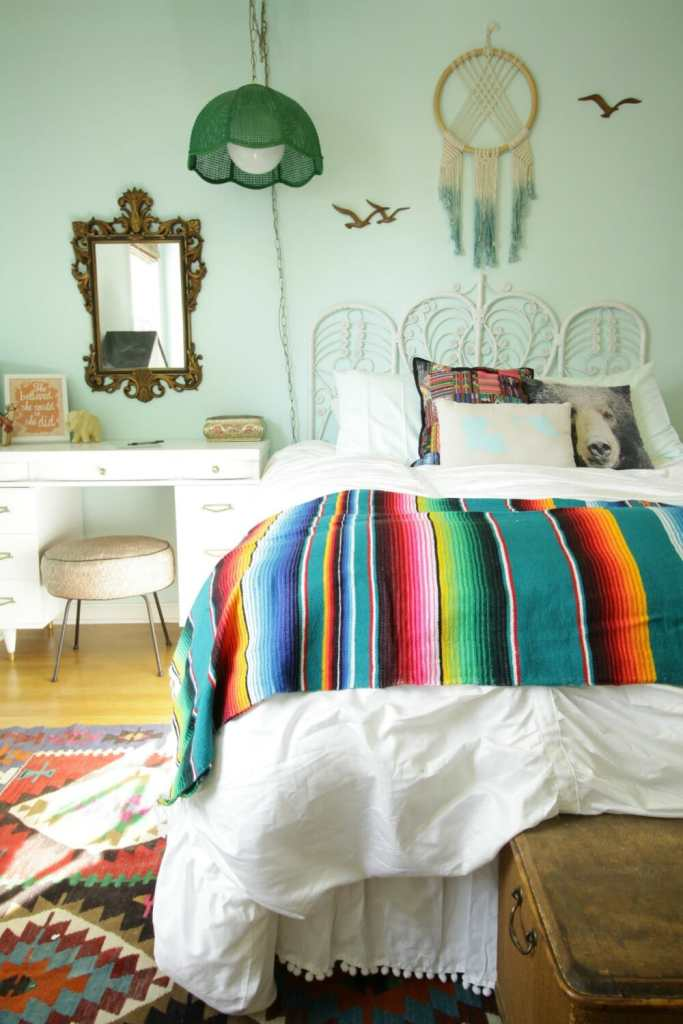 Mexican Boho Girls Room