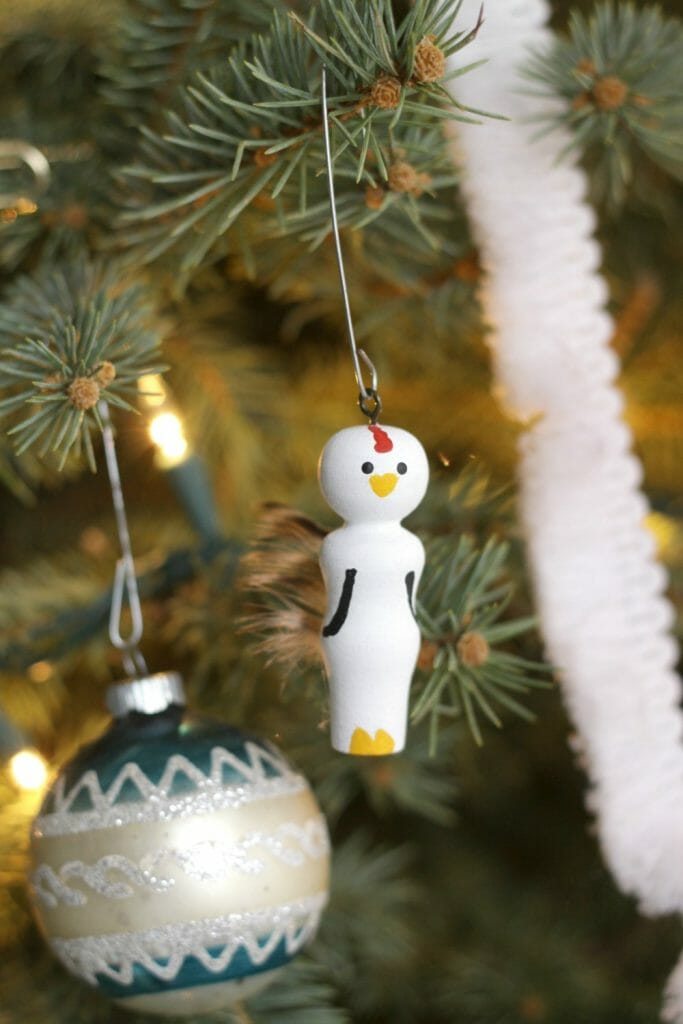 Chicken Ornament- DIY