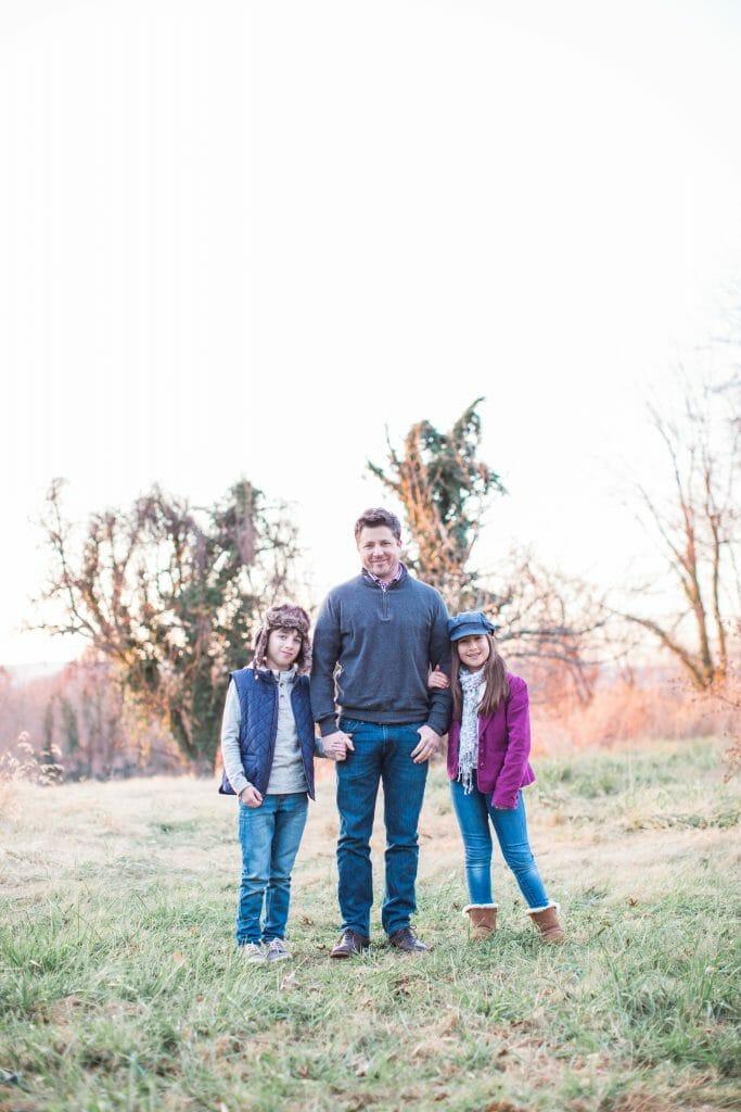 Chris and kids