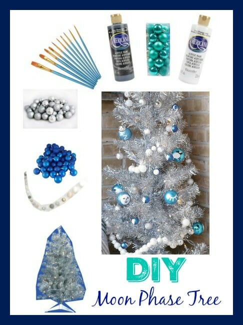 DIY Moon Phase tree