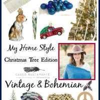 My Christmas Tree Style: Vintage Bohemian