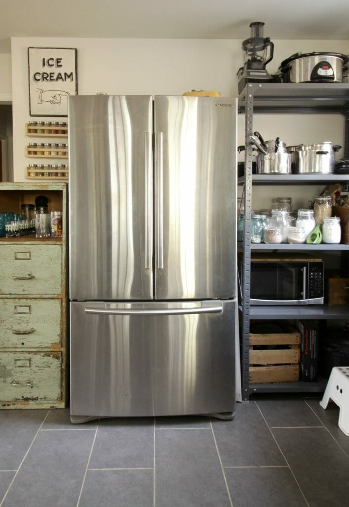 Industrial Kitchen Storage Ideas