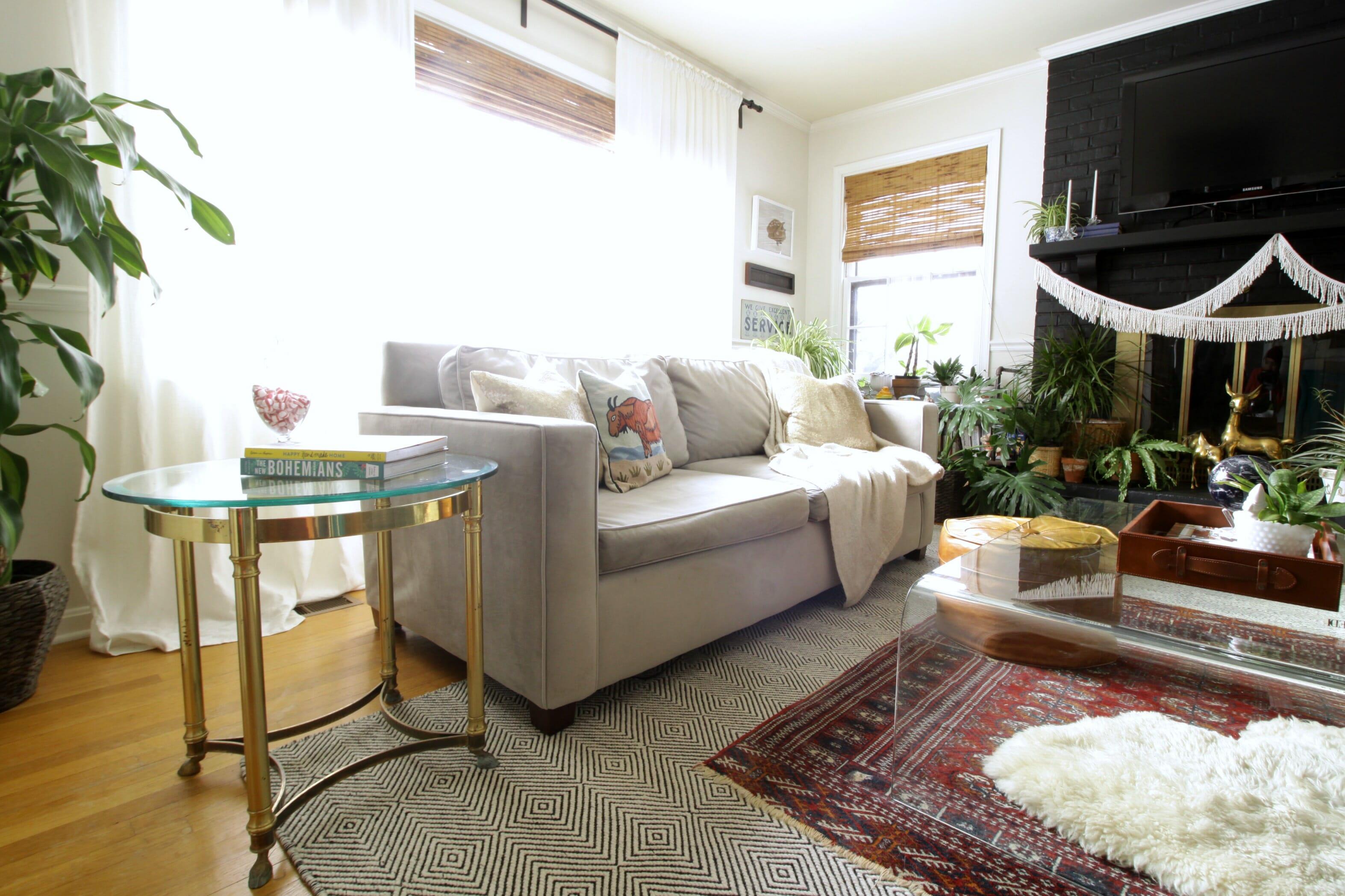West Elm Henry Sofa In Living Room