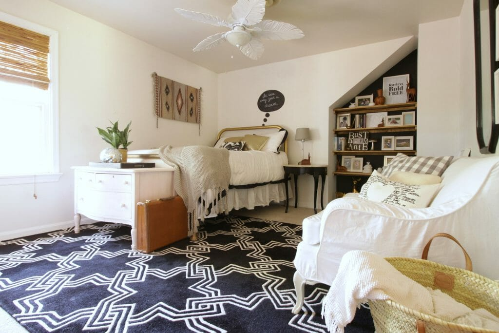 No Cost Bedroom Makeover