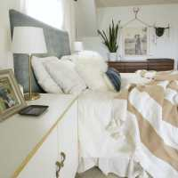 Master Bedroom Progress: Mudcloth Headboard