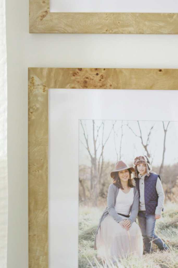 Burl Wood Frames