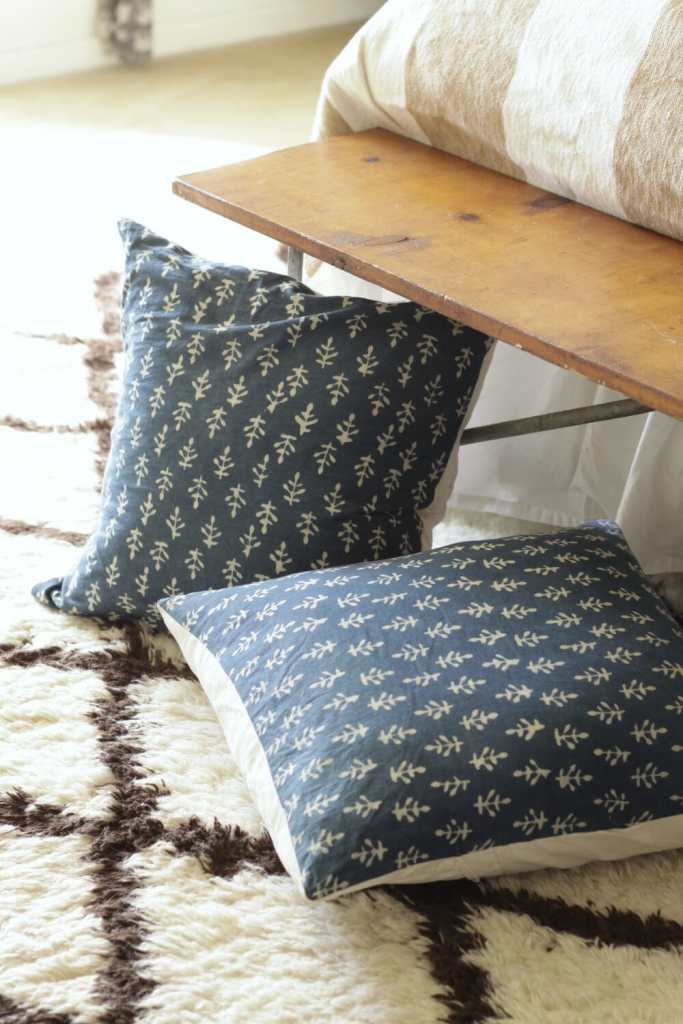 Block Print DIY Pillows