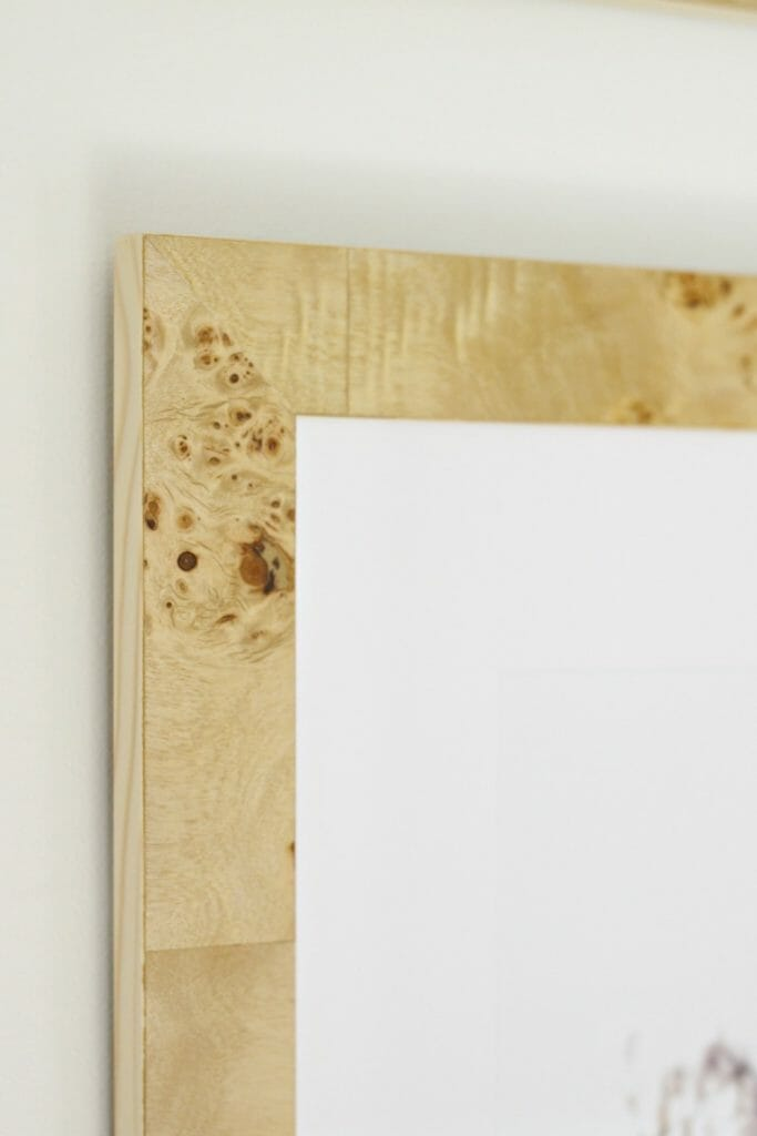 Burl Wood Frames
