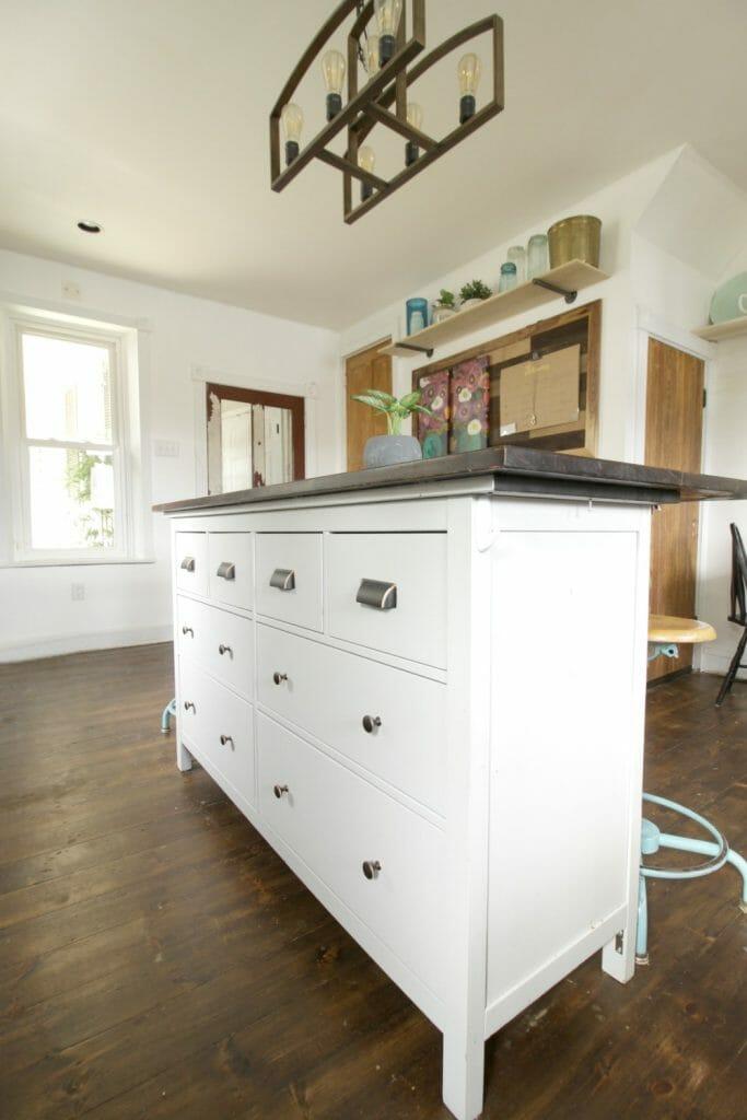 Ikea Dresser Turned Kitchen Island