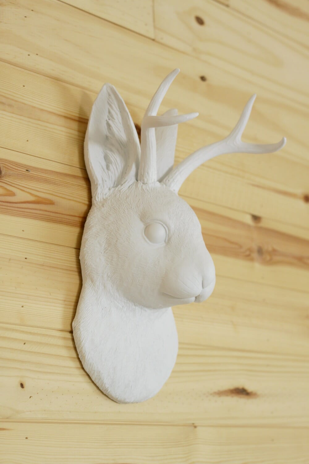 Beautiful Silver Antlers Wall Decor Picture Collection - The Wall ...