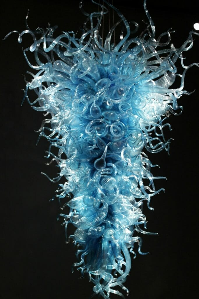 Chihuly Glass Suspended Sculpture