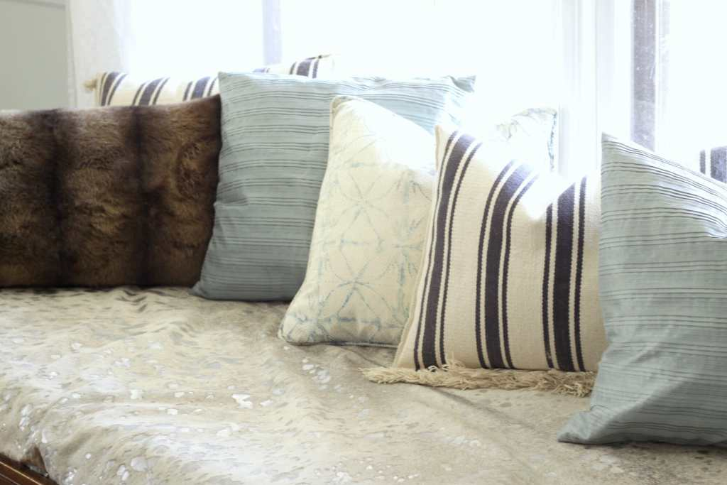 Cowhide on Daybed