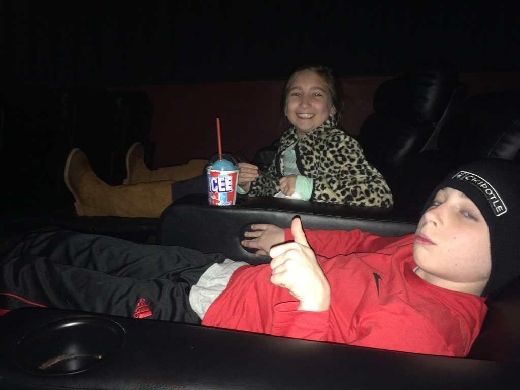 Emmy & Sawyer at Power Rangers