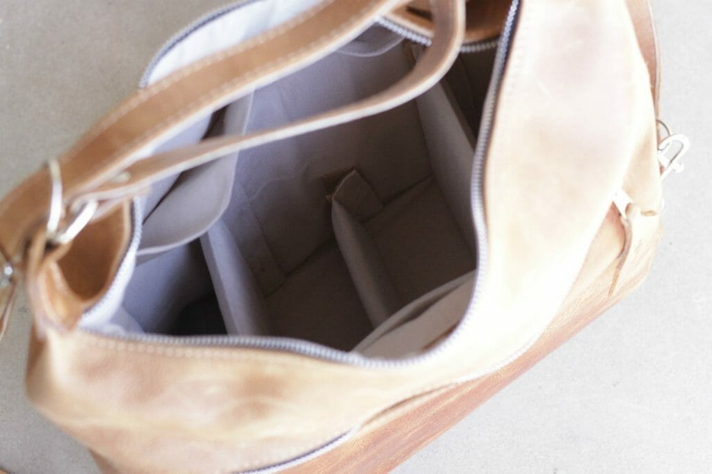 Interior of Anaya Bag
