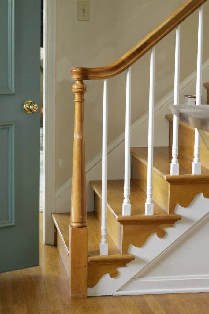 Painted-Stair-Rails