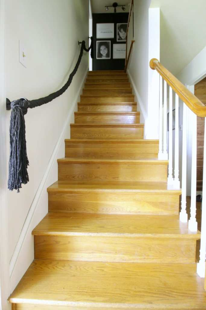 Painted Staircase Trim and Spindles