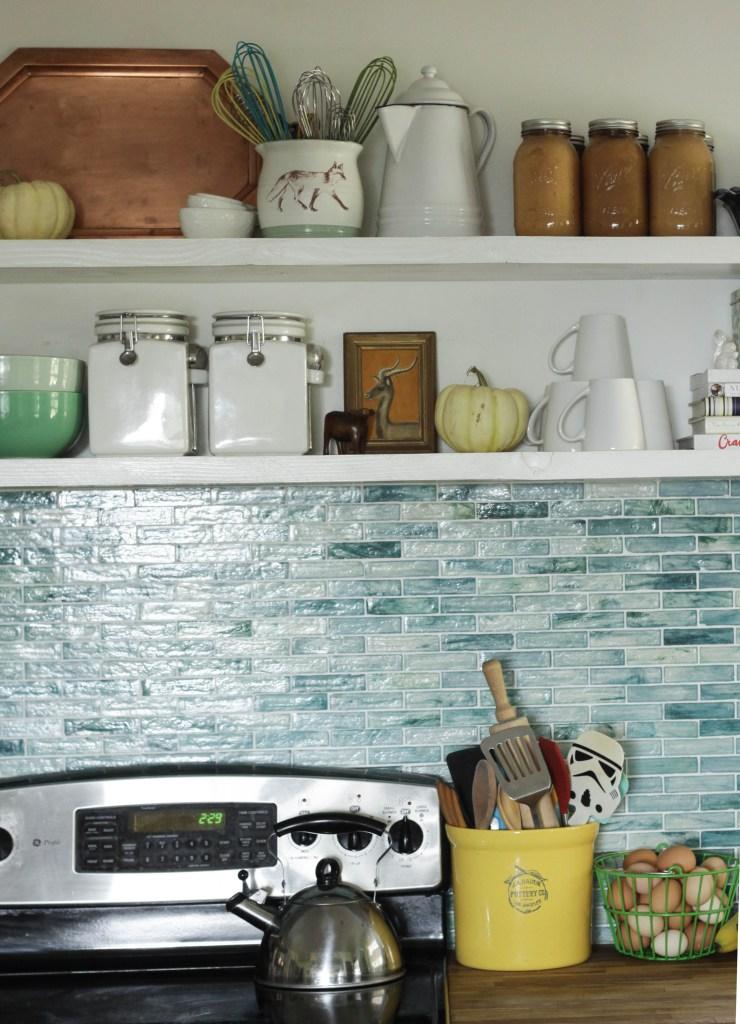 Fall Kitchen Shelfie