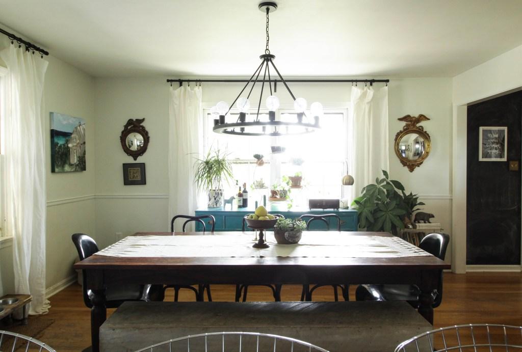 Vintage Modern Rustic Dining Room
