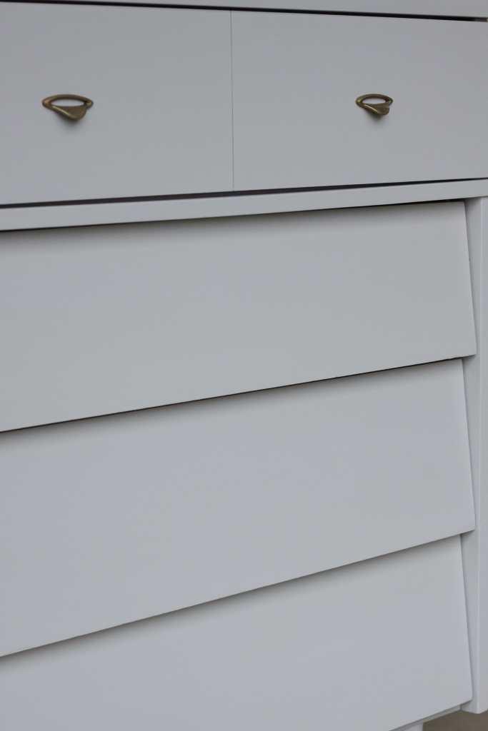 gray Midcentury Dresser