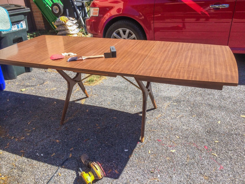 MCM Table with Leaves in