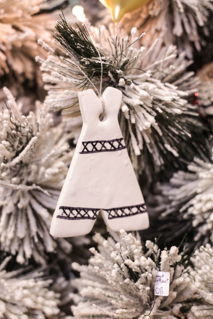 Clay Teepee Ornament DIY