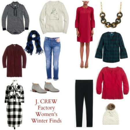 J. Crew Factory Winter Picks for the Whole Family, and My New Part Time