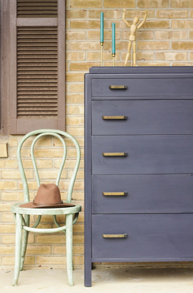 Vintage Art Deco Dresser Makeover DIY
