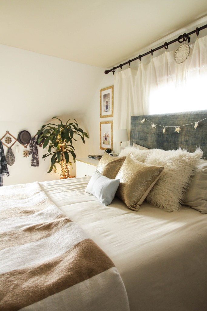 master bedroom images. Modern Boho Blue and White Christmas bedroom Eclectic Home Tour Part 1  Master Bedroom Guest Room