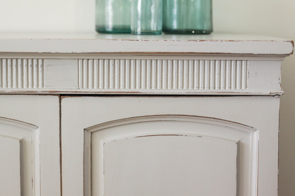 Distressed Details on Furniture