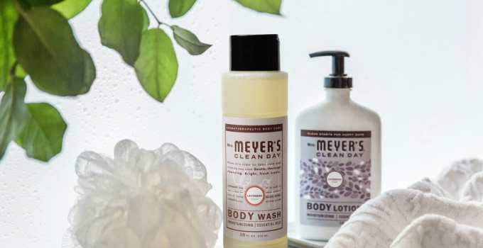 Treat Yourself to Some Self Care with a free Mrs. Meyer's Bath Set this Valentine's Day