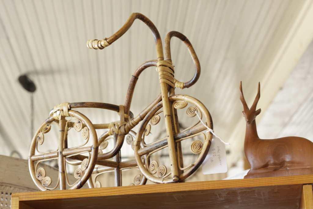 vintage bicycle planter