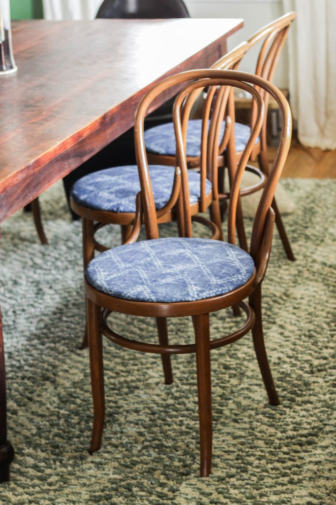how to reupholster round chair seats cassie bustamante