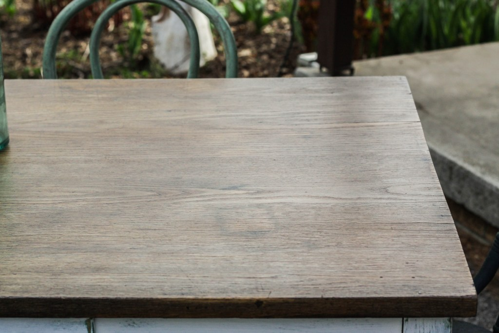 Refinished Oak Table Top