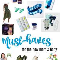 New Mom and Baby Must Haves
