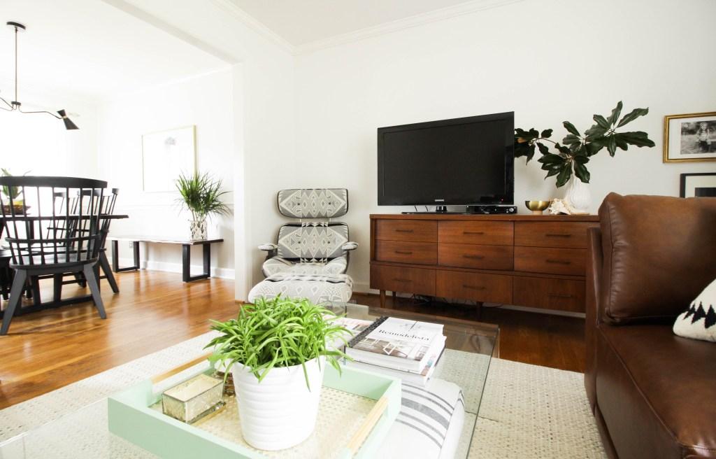 Modern Vintage Neutral Living Room