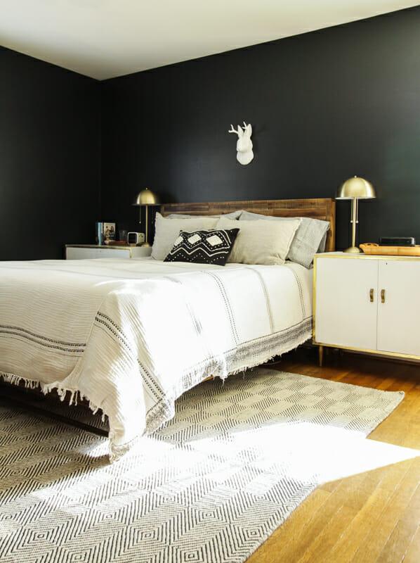 & Moody Modern Boho Master Bedroom Progress - Cassie Bustamante
