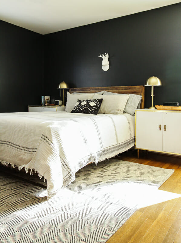 Moody Modern Boho Master Bedroom Progress - Cassie Bustamante on Boho Bedroom Modern  id=53907
