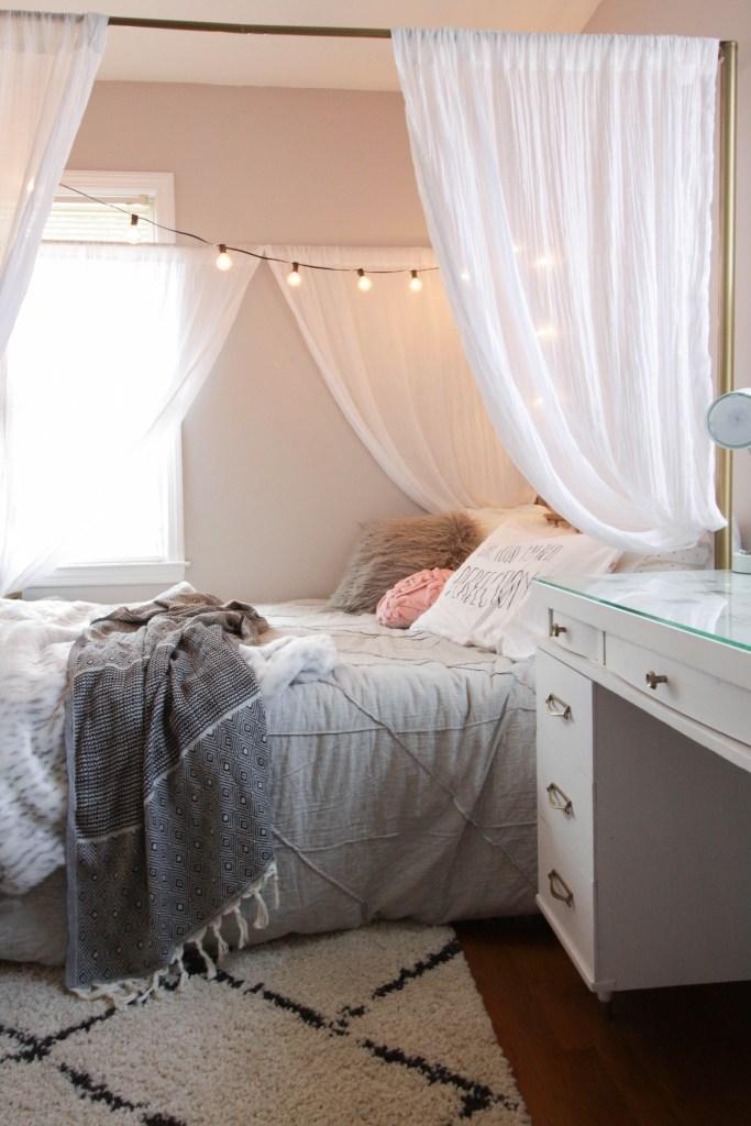 Tween Modern Boho Bedroom