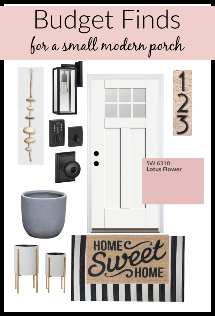 Budget Friendly Small Porch Decor Finds