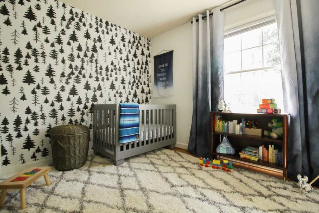 White Baby Boy Nursery