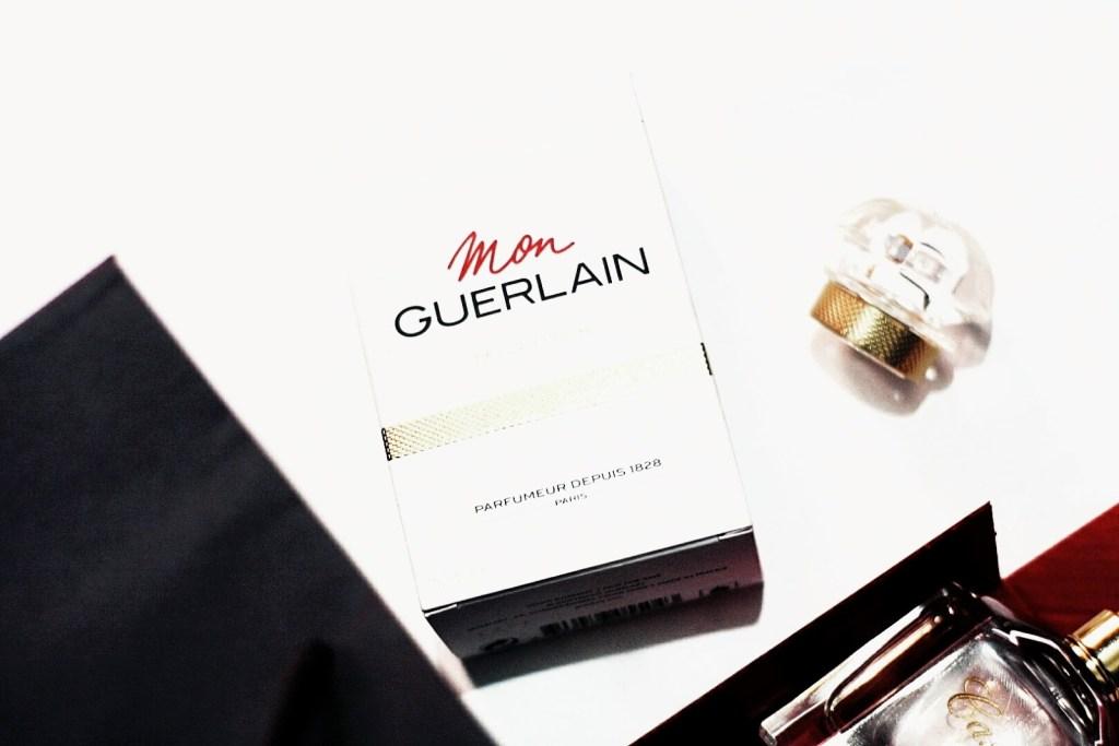 Mon Guerlain Perfume review, what mon guerlain perfume packaging looks like