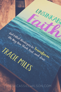 Tracie Mile's new book, Unsinkable Faith