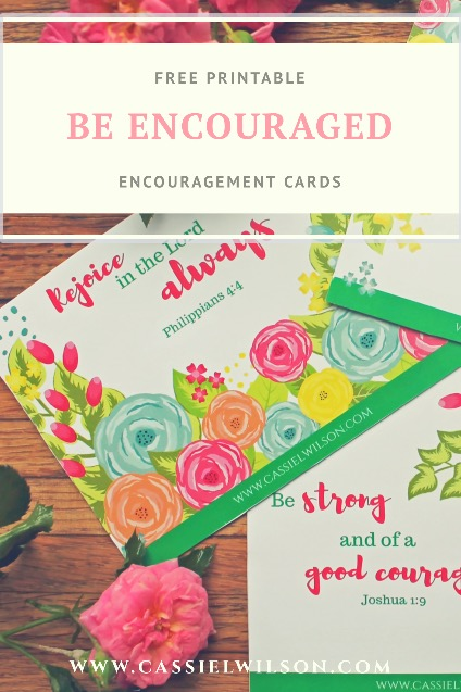 free encouragement cards printable-cassie l. wilson