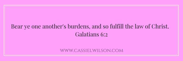 Galatians 6-2