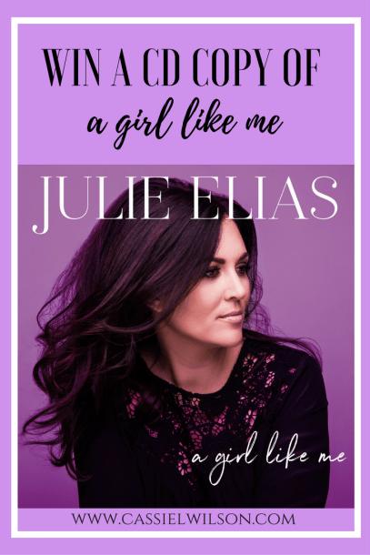 Julie Elias's new CD, A Girl Like Me