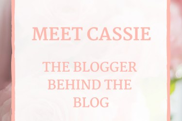 The Blogger Behind the Blog